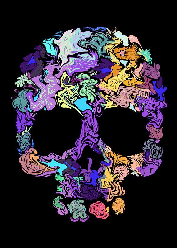 Kuru Kafa / Skull on Behance