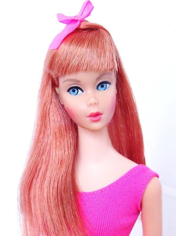 RARE! Vintage Redhead Titian Stancdard Barbie Doll Mint!