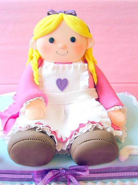 Rag doll cake by deborah hwang