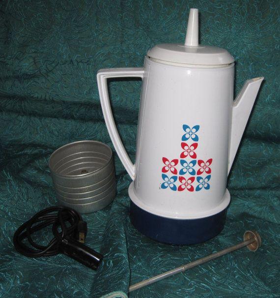 Vintage Regal Poly Perk Percolator Coffee Maker