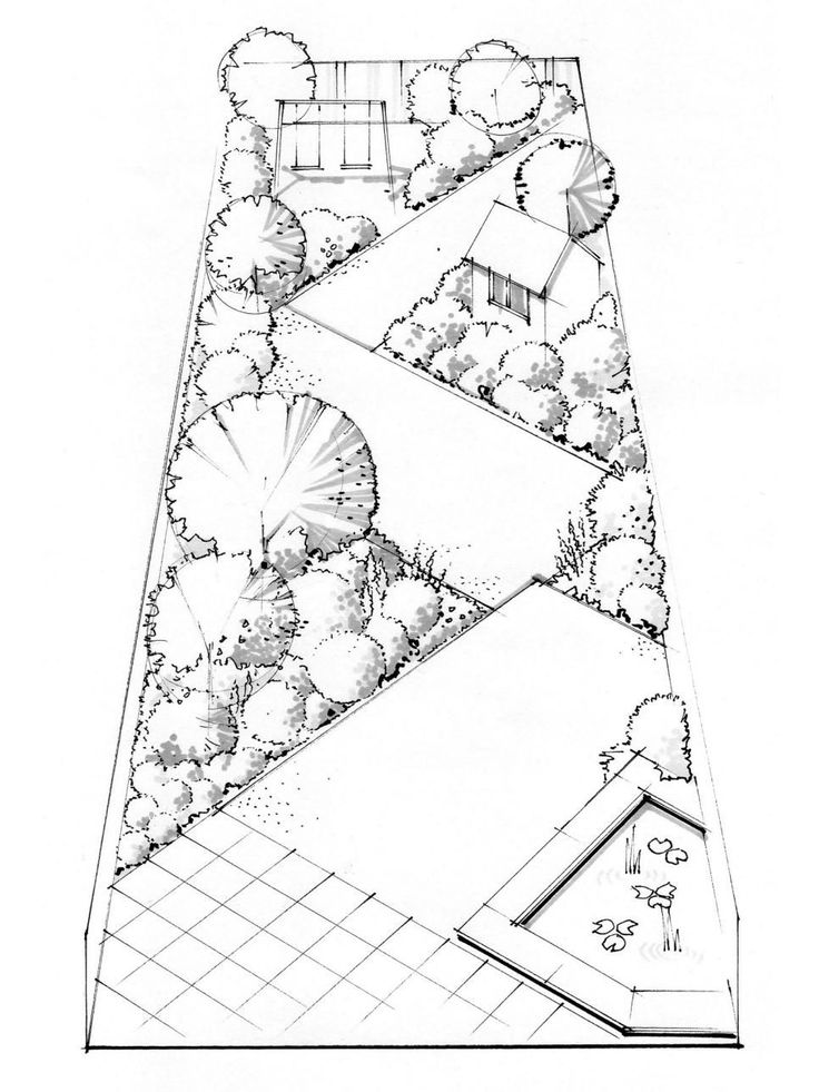 Garden Design Plans Conceptual Sketch For Garden Design By Native