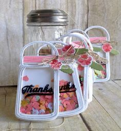 Customer Jar of Thanks... | Rambling Rose Studio | Billie Moan