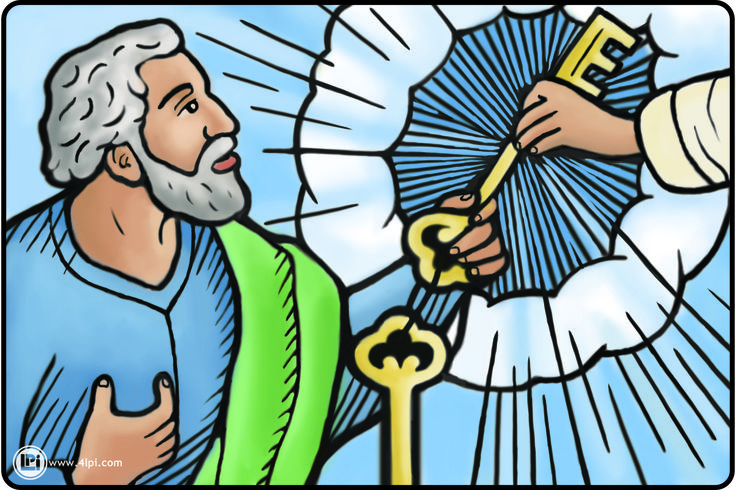 jesus and peter clipart - photo #20