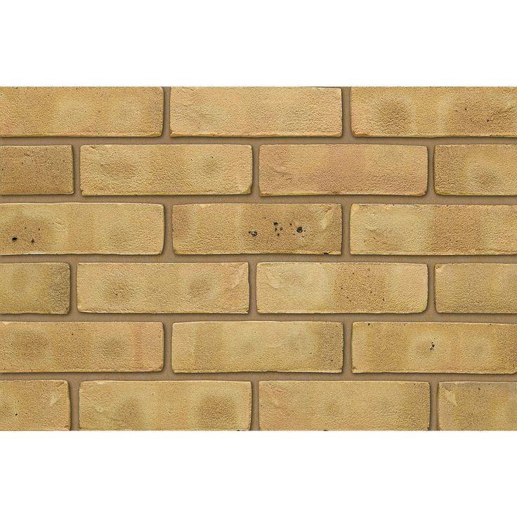 Facing Bricks: Ibstock Facing Brick Laybrook Sevenoaks Yellow Stock