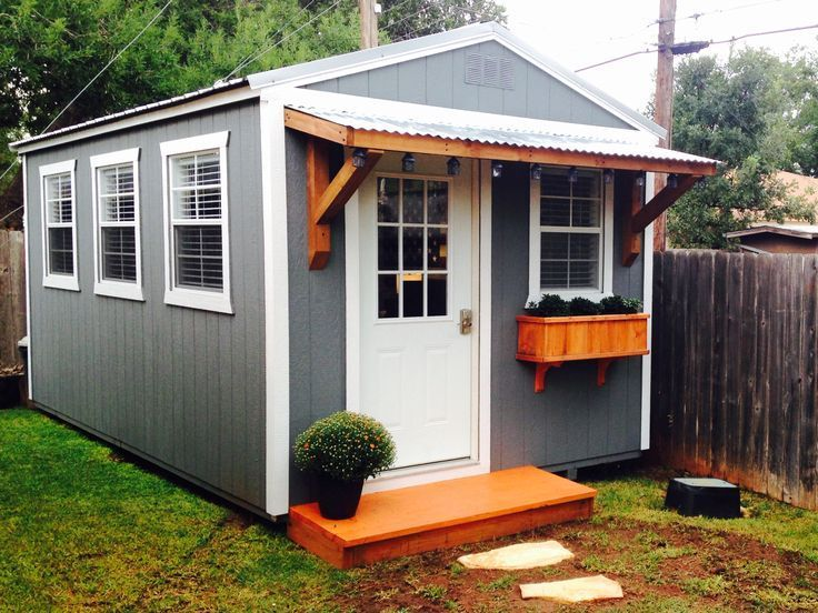 Backyard Office Derksen Portable Building Finished Out Building A Grooming Salon Dog Grooming Tools Backyard Office Backyard Buildings Shed To Tiny House
