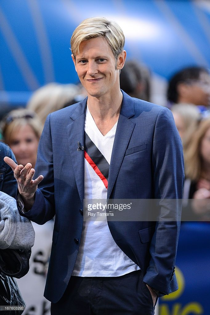 Actor Gabriel Mann tapes an interview at 'Good Morning America' at the ABC Times Square Studios on April 26, 2013 in New York City.