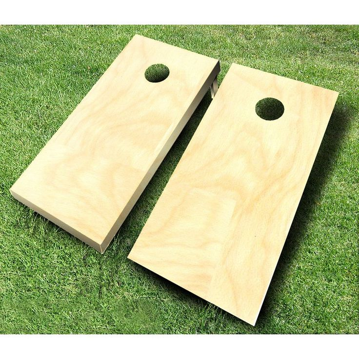 Buy Tournament Wooden Cornhole Set: Board Dimensions: 48L x 24W x 3H in. View ratings, reviews or browse similar Cornhole at Hayneedle.