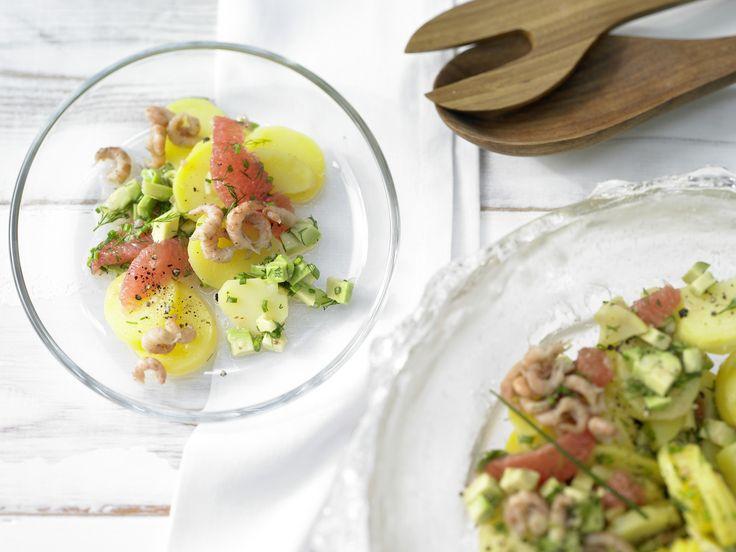Kartoffel Kcal kartoffel avocado salat rezept einfacher kartoffelsalat avocado