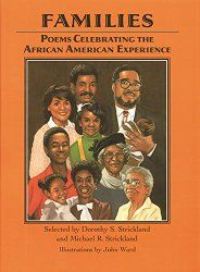 My Book Families Poems Celebrating The African American Experience