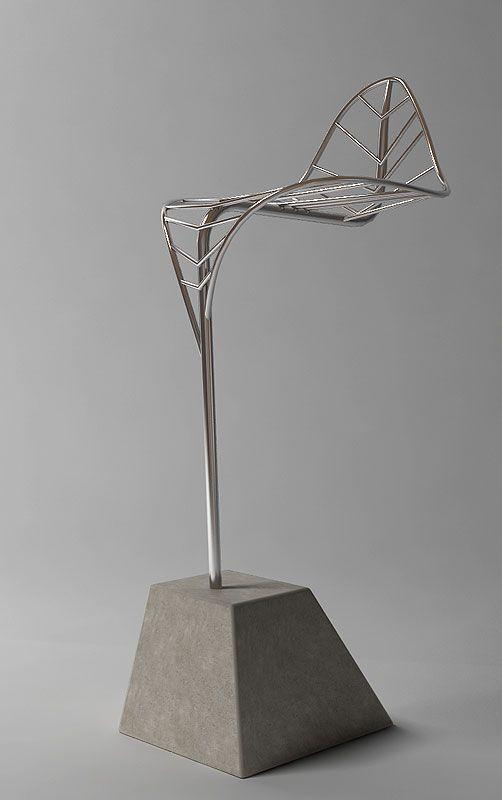 The Leaf bar stool by Velichko Velikov