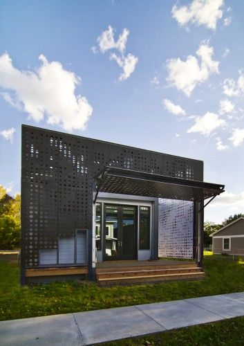 LEED Platinum Certified tiny home. I'll take it! / Designed by: Cook + Fox Architects