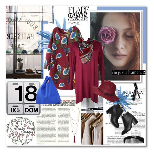"""""""Hello November - Alinaboutique.com"""" by undici ❤ liked on Polyvore featuring moda, Danese, MM6 Maison Margiela, Paul Andrew y Bobbi Brown Cosmetics"""