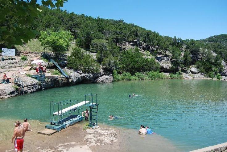 Blue Hole Oklahoma Park | Blue Hole at Turner Falls