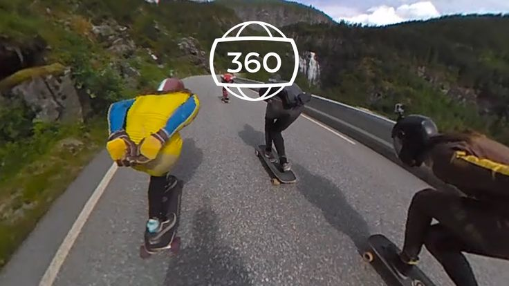 Giroptic : On the Road, longboard at EkstremSport Veko Festival