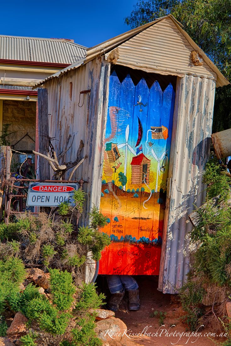 Arty Dunny - Aussie Humour at Broken Hill, NSW
