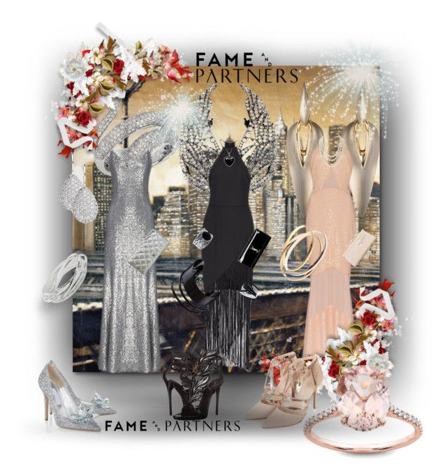 Fame & Partners: Contest Entry by tempestaartica on Polyvore featuring moda, Fame & Partners, Topshop, Giuseppe Zanotti, Chanel, Yves Saint Laurent, Judith Leiber, Alexis Bittar, Effy Jewelry and John Lewis
