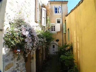Nebian, France, 3 storey village house, renovated, built in part of 11th century tower. $228K, 3 bed, 2 bath