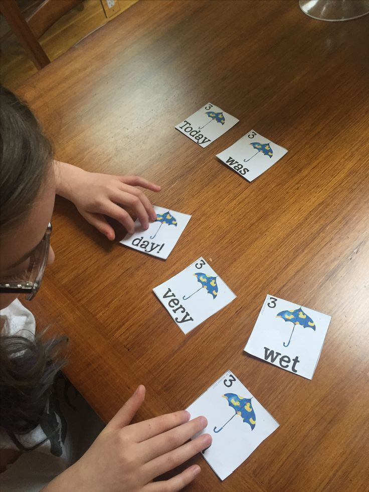 Use this activity to reinforce sight words and increase students' comprehension.  Just cut, laminate, and go!  There are 24 sentences in all. All sentences are created from the Dolch Sight Word List (PP-1st grade)