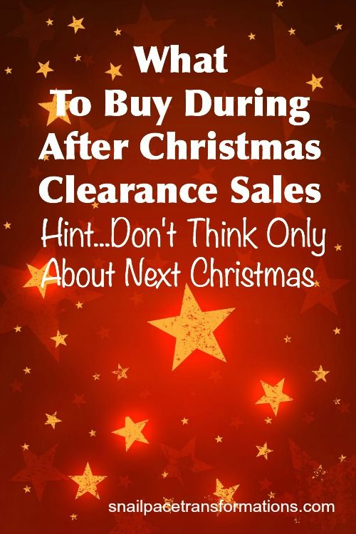 There is more than just discounted  wrapping paper and cards to be found at after Christmas sales. Find out how to use these sales to save money on things you use all year