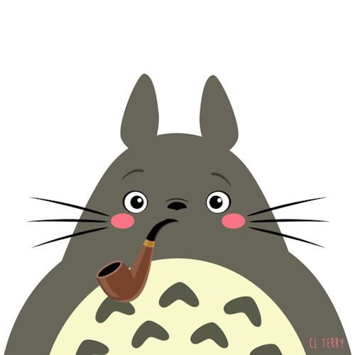 Day 83. Totoro relaxes after a tough day.