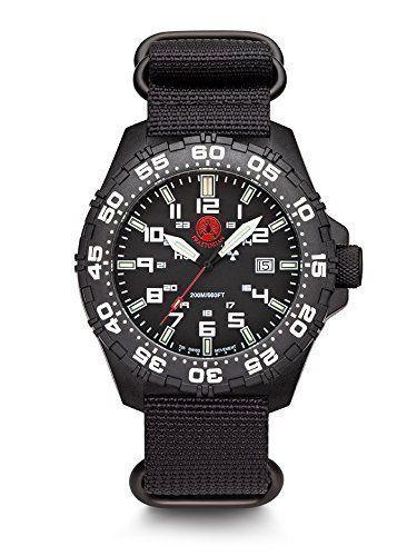 Praetorian SOCOM Black - Divertec Zulu Armband - H3 Tritium Uhr - Trigalight - http://uhr.haus/praetorian/praetorian-socom-black-divertec-zulu-armband-h3