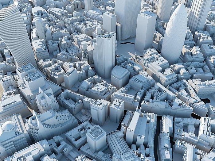 The City of London in 3D BG2 Pinterest Models