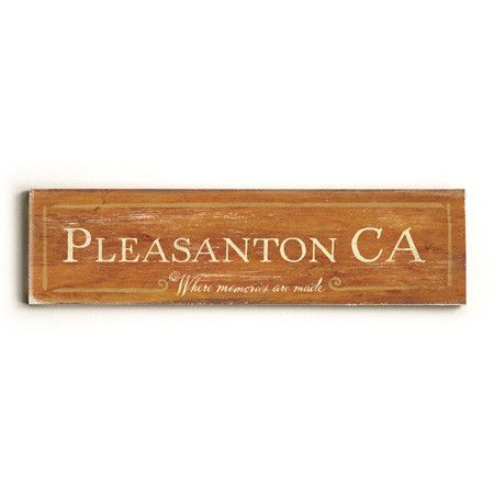 Personalized Where Memories Are Made City Sign Wood Sign