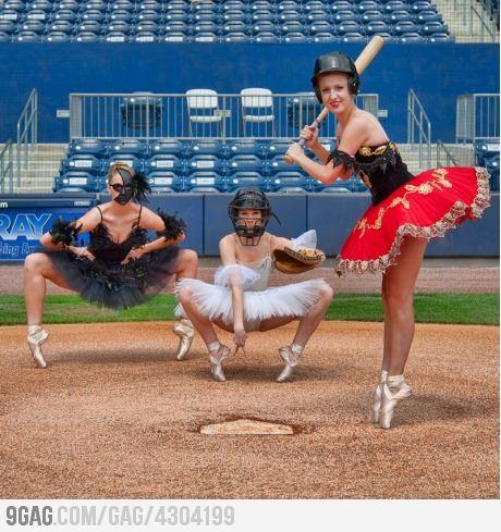 Ballet x Baseball