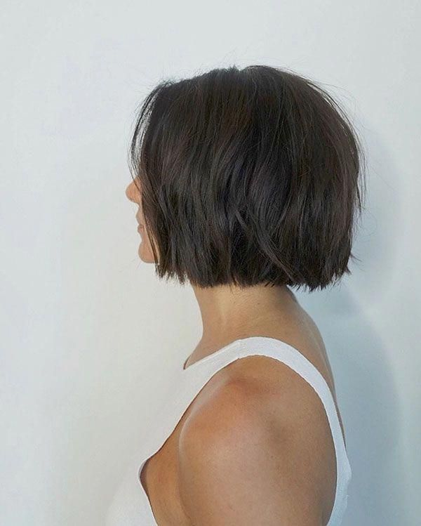 Short Bob Haircuts For Thick Hair Bobhairstyles Thick Hair Styles Haircut For Thick Hair Short Hairstyles For Thick Hair