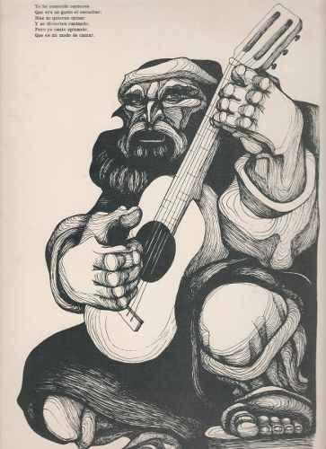 Arte Argentino : Carpani, R - Serie Martín Fierro - Firmada - $ 500,00