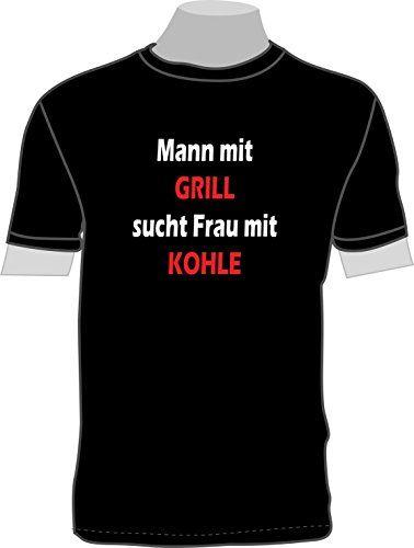 mann mit grill T-Shirts - Männer T-Shirt