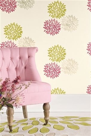 Buy Pink Bloom Wallpaper from the Next UK online shop