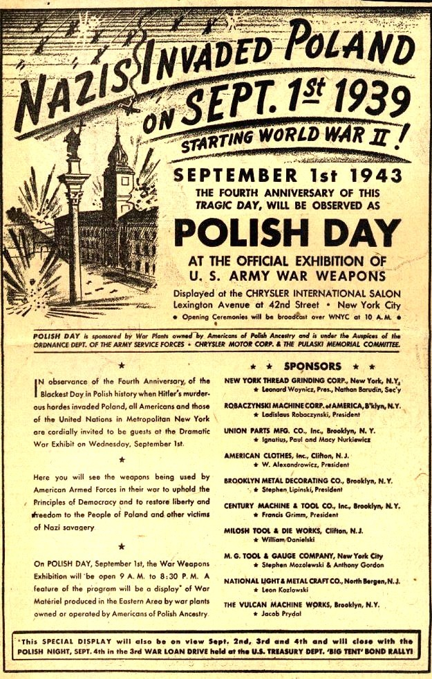 1943 Anniversary of the Invasion of Poland (rw)