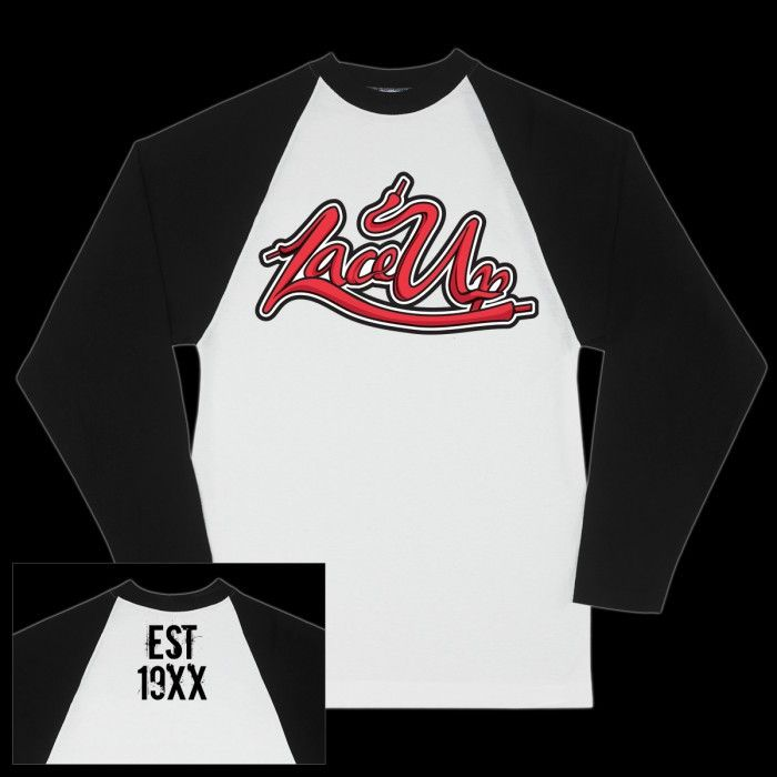 Lace Up Baseball Raglan | Machine Gun Kelly Shop