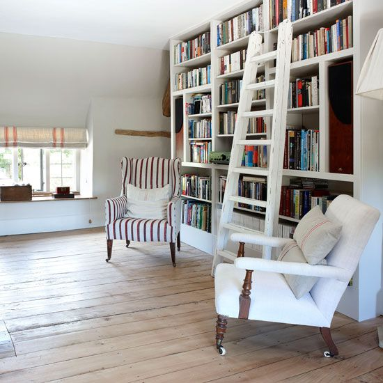 Library | Cotswold Farmhouse | House tour | PHOTO GALLERY | country homes & interiors | Housetohome.co.uk