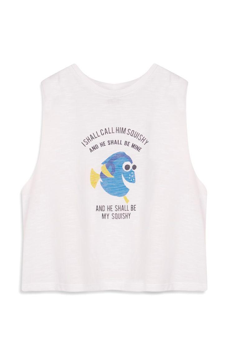 """Weißes """"Findet Nemo"""" Tanktop"""