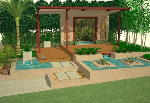 Landscape architecture sketchup gallery picasa web for Sketchup landscape design
