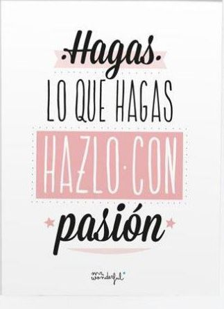 Pasion frases