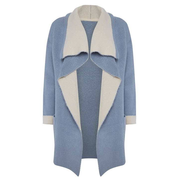 Primark - Light blue waterfall cardigan | Primark | Pinterest ...