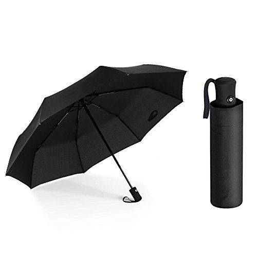 #Nornou #Compact #Travel #Umbrella #Automatic #Open #Windproof #Umbrella #Lightweight #Reinforced #Canopy with #8 #Ribs ☂ DURABLE PONGEE MATERIALS - Our #travel #umbrella is made of high quality waterproof pongee fabric,which is durable,soft and breathable.#Compact pongee fabric can be highly water repellent and quick drying.Waterproof & quick dry technology make it easily dry,all the drops will gone when gently flick after use ☂ #REINFORCED #WINDPROOF DESIGN - This #comp