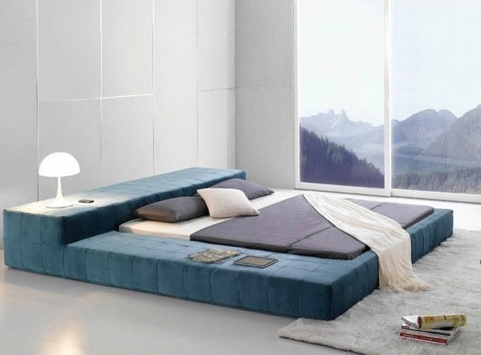 bedroom furniture this opaq contemporary bed frame brings an ultra