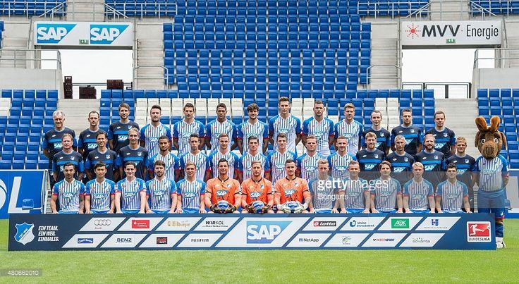 team presentation of 1899 Hoffenheim at Wirsol Rhein-Neckar-Arena on July 14, 2015 in Sinsheim, Germany.