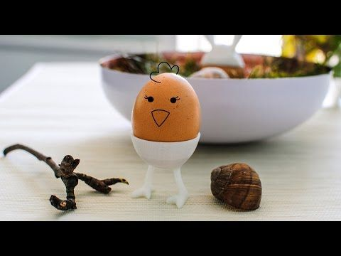 Easter 3D printing idea: Chicken legs | DIY egg decoration created with VECTARY - YouTube