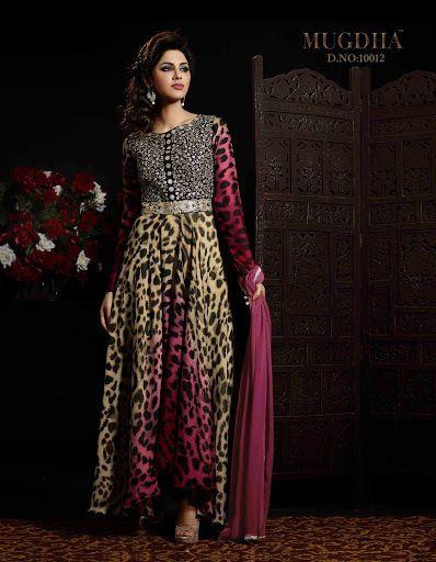 New Indian Bollywood Kameez Pakistani Party Anarkali Ethnic Designer Salwar Suit #Handmade #SalwarKameez