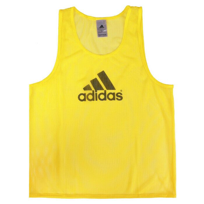 Details About Adidas Training 14 Team Pinnies Scrimmage Vest Soccer Football Yellow Fi4189 In 2020 Adidas Advertising Shirts Soccer