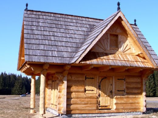 Zrubova chata | Nice Log house from Slovakia for Slovakia