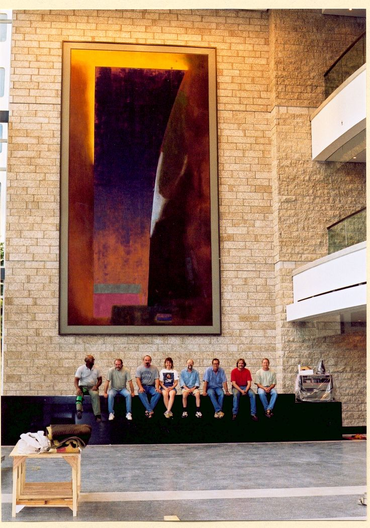 """Calix"" 1996. Francis Winspear Centre"