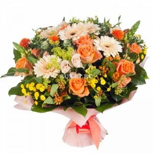 Букет цветов «Лунный камень»