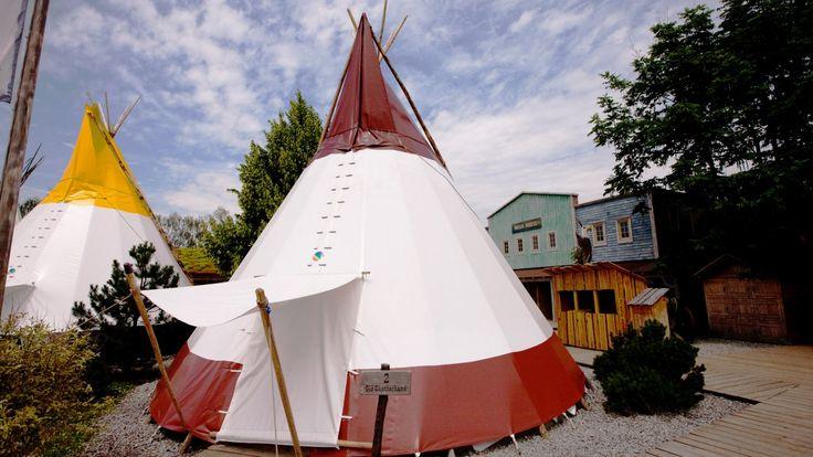 Glamping: Camp Resort Tipi Zelte - Europa-Park   Themeparkfreaks