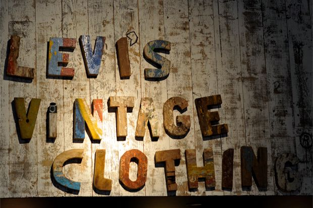 Vintage Places Famous Levis Denim Brand Osaka Store Concept In Love With